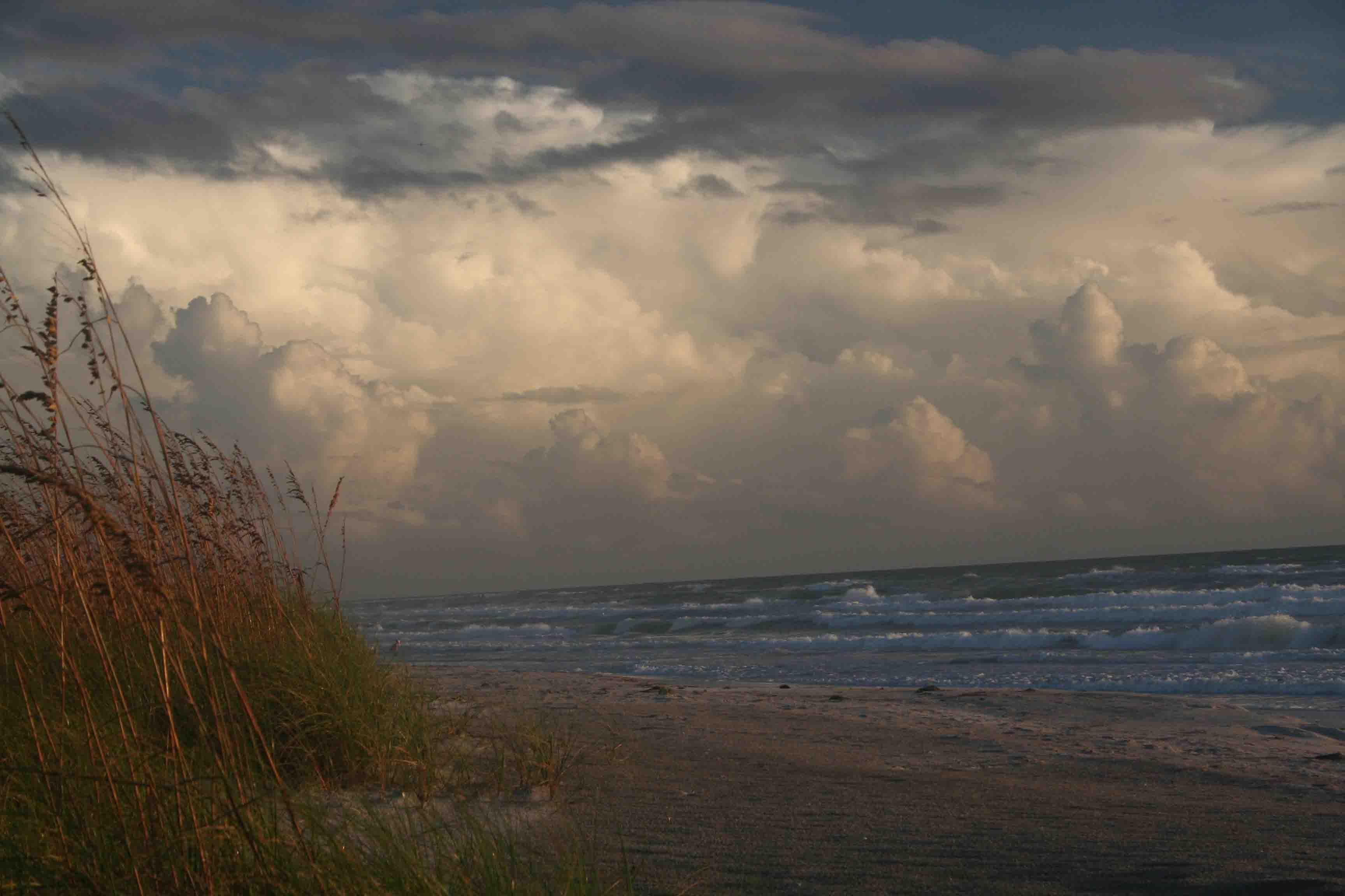 Beach And Ocean Storm: Inner Peace Illuminations